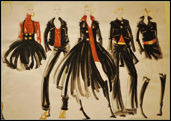 2012优秀学员服装设计作品展