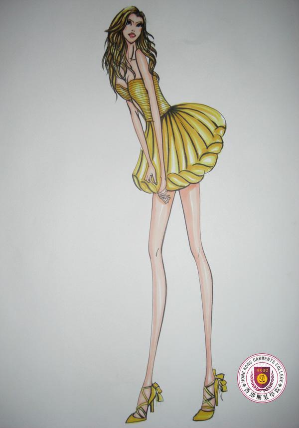 香港服装学院优秀毕业学员陈小婷服装设计作品14