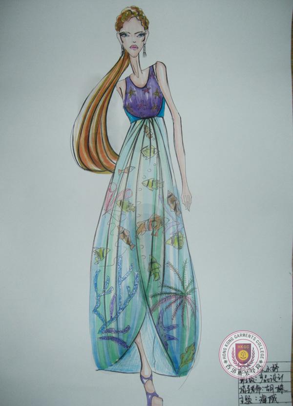 香港服装学院优秀毕业学员陈小婷服装设计作品19