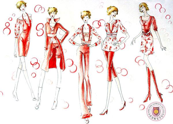 学生服装设计图
